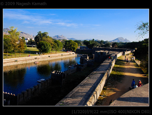 Moat around the fort | Vellore