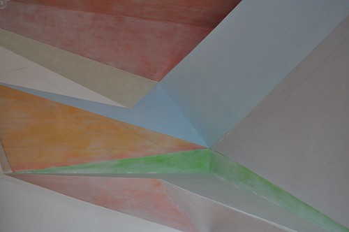 "A view of Phong Bui's ""Homage to Robert Ryman"" (2010)"