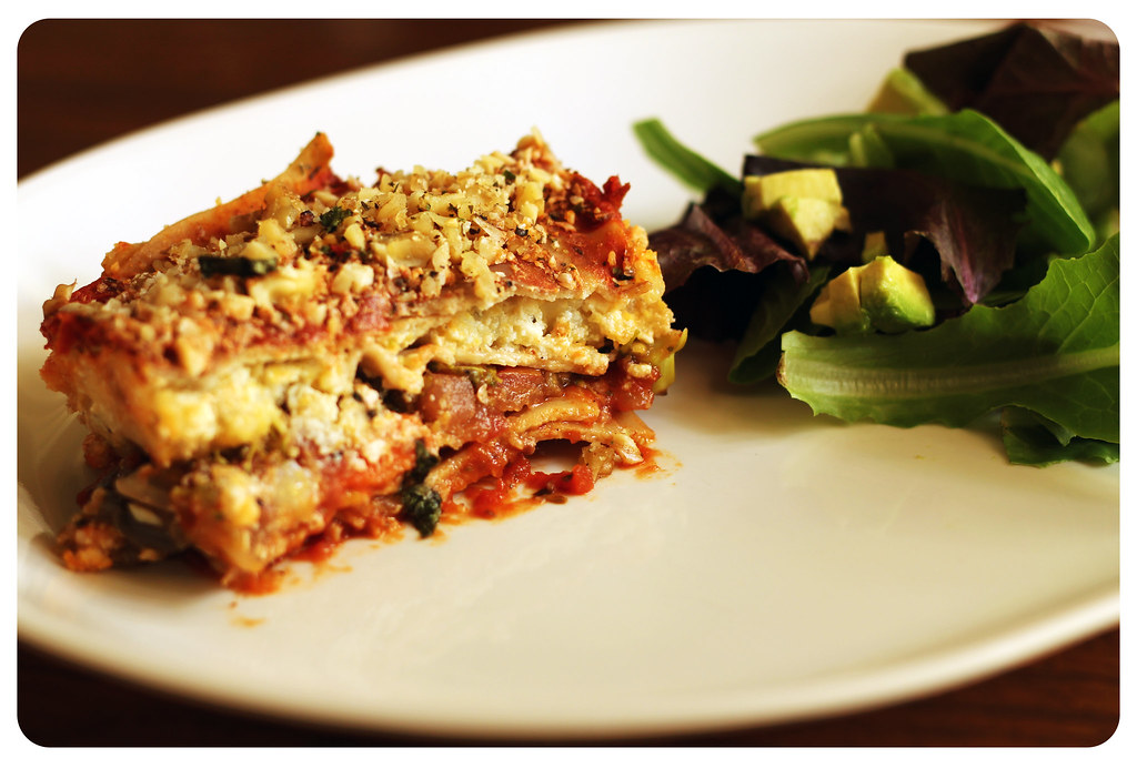 Vegan Polenta Lasagna