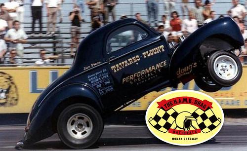 H.A.M.B. Drag Racing Sticker