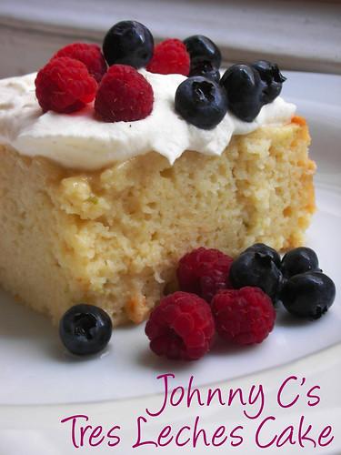 Johnny C's tres leches cake