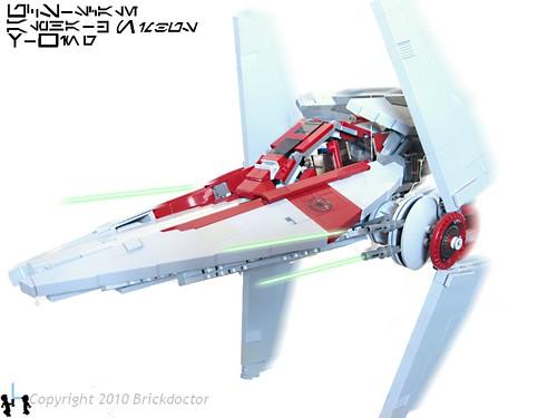 UCS Alpha-3 Nimbus-class V-wing Interceptor