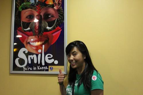 Smile! You're in Kenya!