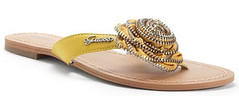 Sew Chicago Inspiration: Zipper-embellished sandal
