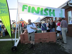 Chris at the Finish