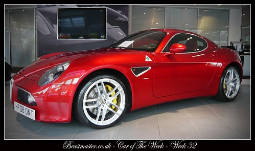 Beastmaster Car of The Week - Week 32 - Alfa Romeo 8C