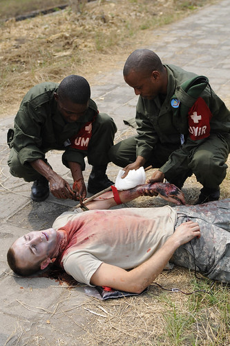 MEDFLAG 2010, Medical Skills Exchange, Kinshasa, Democratic Republic of Congo, September 2010