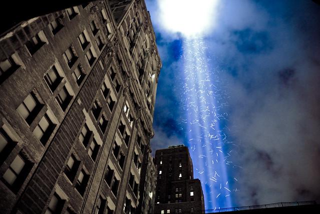 9/11 Lightbeams