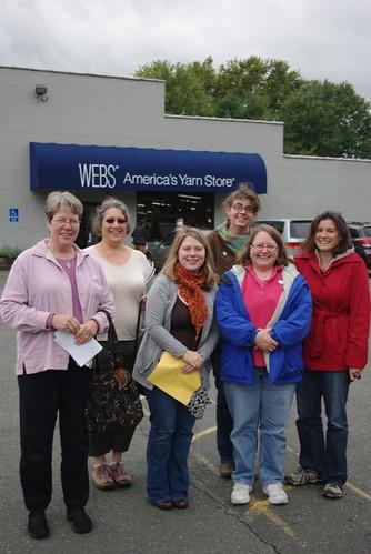 The Gang Outside Webs
