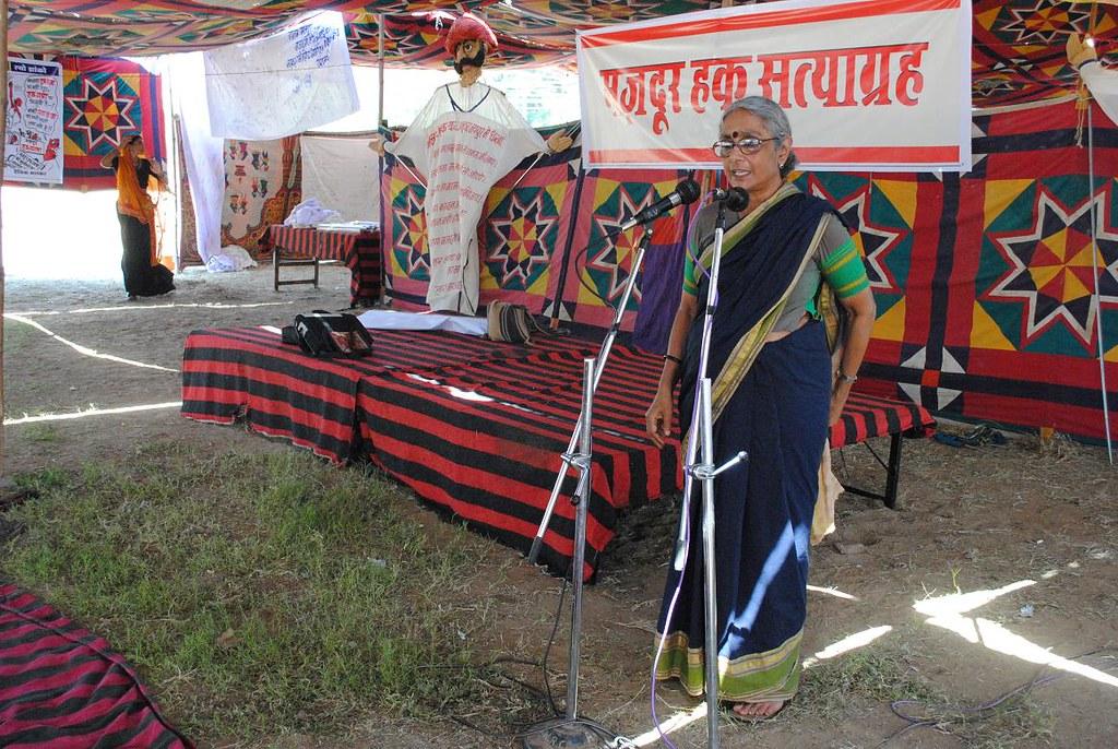Pics from the satyagraha - 4 Oct 2010 - 17
