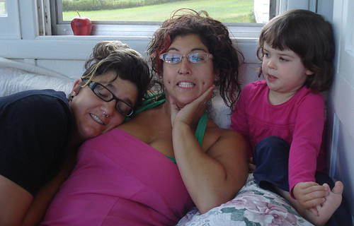 With Her Aunties