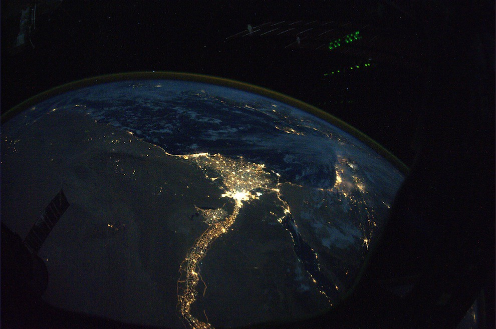 The Nile and Egypt from NASA