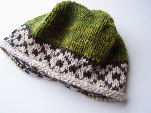 trimmed forest hat