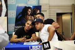 J. Cole Autograph Signing