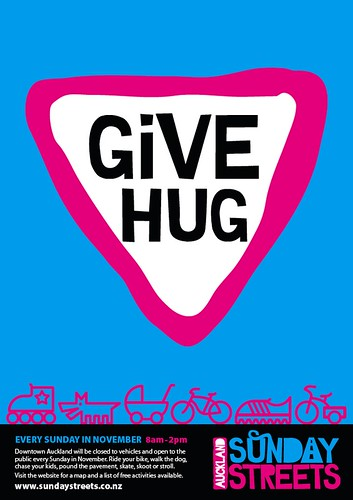 Sunday Streets - Give Hug {NOT A REAL EVENT!!!}
