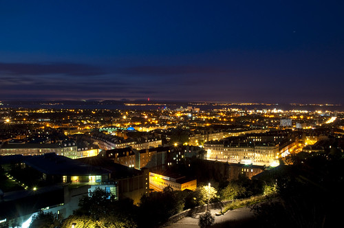 North Edinburgh at Night