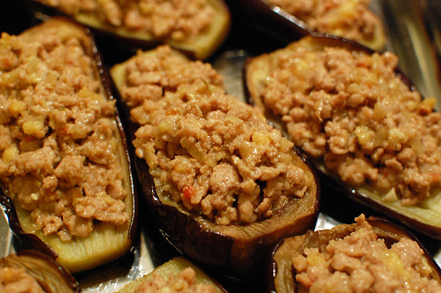 Stuffed with Pork Filling