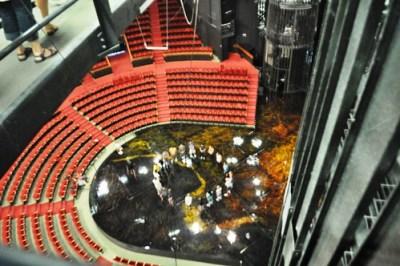 More than 60 Feet Above the Stage, Cirque Du Soleil La Nouba, Downtown Disney, Florida