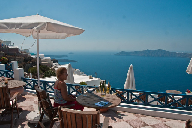 Breakfast Corner, Santorini
