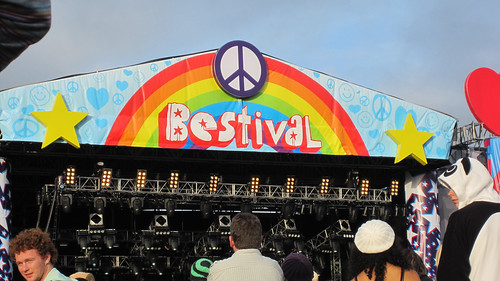 Bestival mainstage