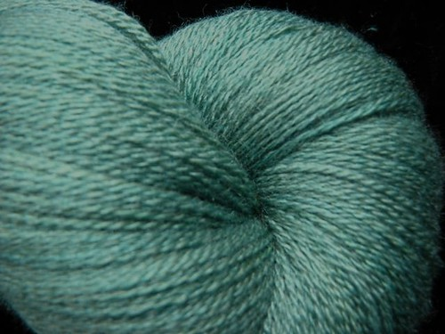 Ship Shape - Hand Dyed Lace Yarn - Zephyr Silk Merino