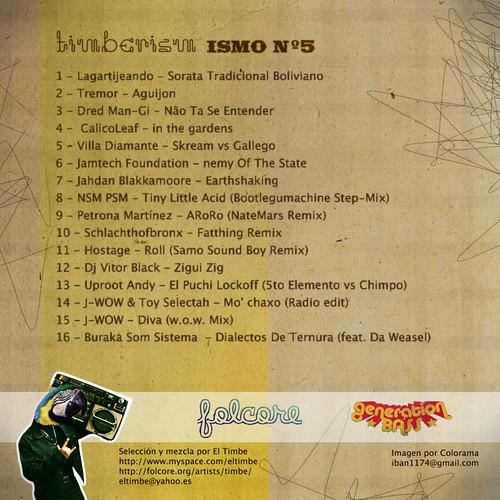 ismo5 tracklist