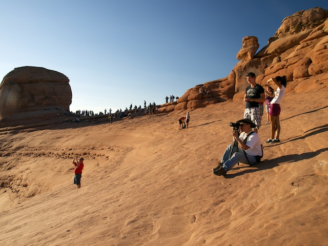Delicate Arch: your new friends
