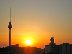 Sunset in Berlin