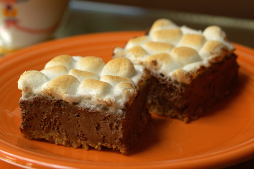 Smores Cheesecake Bars 4