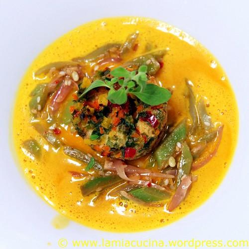 Briocheflan auf Karottensauce 0_2010 08 14_9029