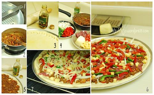 Ready to bake Pizza
