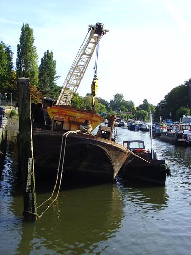 Barges at Twickenham