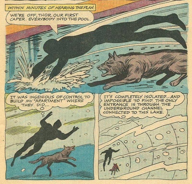 Werewolf 1 underwater