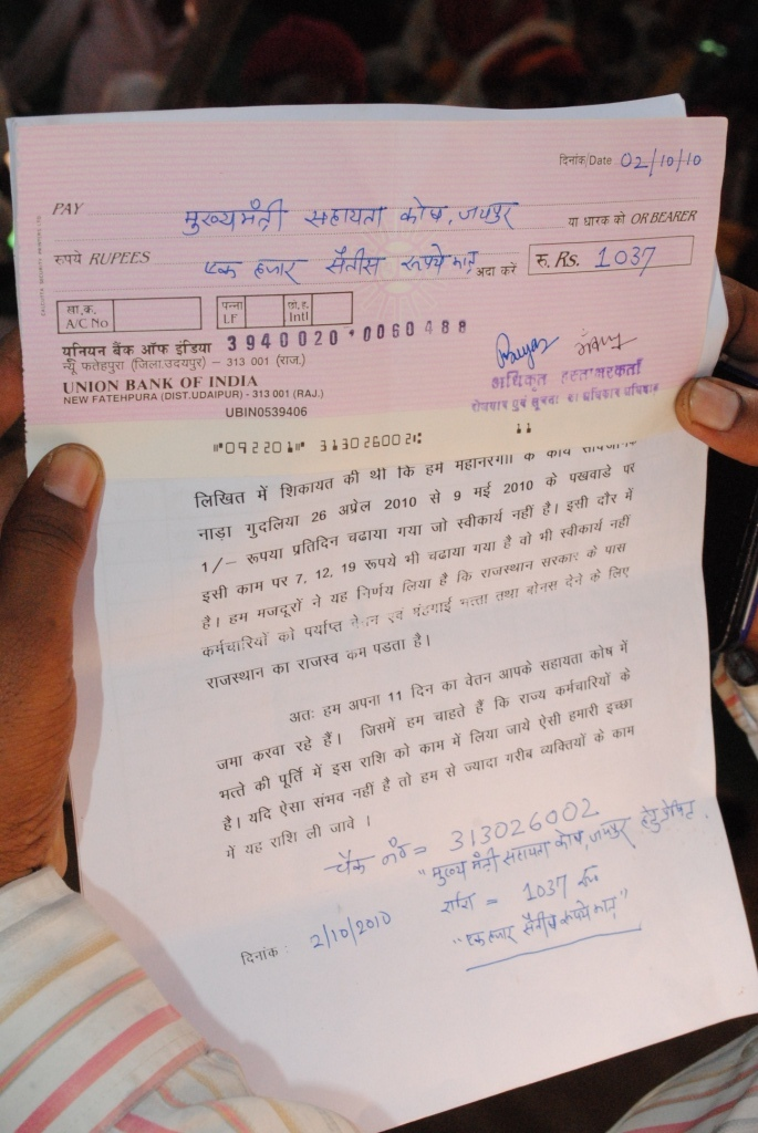 Pics from the satyagraha - 2 Oct 2010 - 27