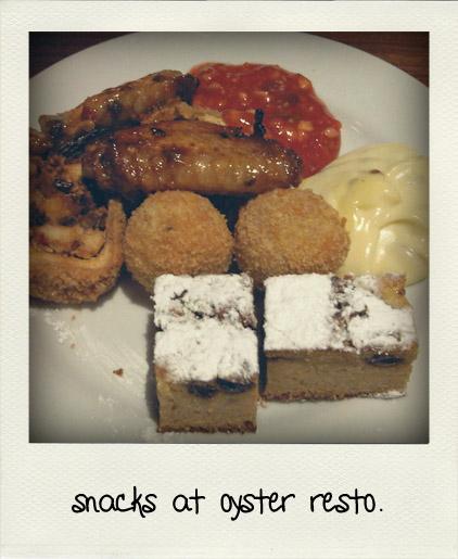 Oyster Restaurant Snack