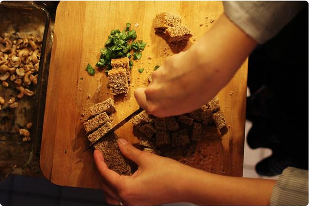 Chopping Bread