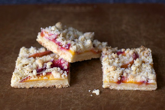 peach shortbread