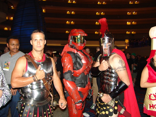 42 A Spartan from Halo with a Spartan from 300