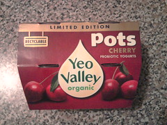 """yeo valley"" recyclable ""limite..."