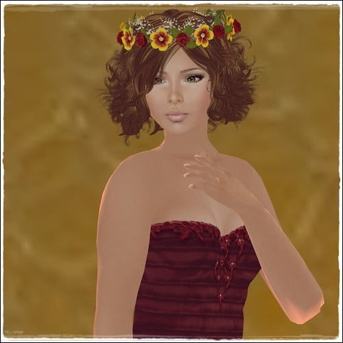 Hatpins - Glenna Hair Wreath - Sixty Linden Weekend