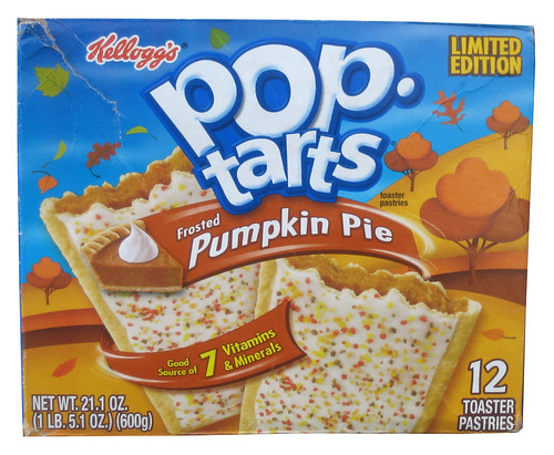 Review Limited Edition Frosted Pumpkin Pie Pop Tarts