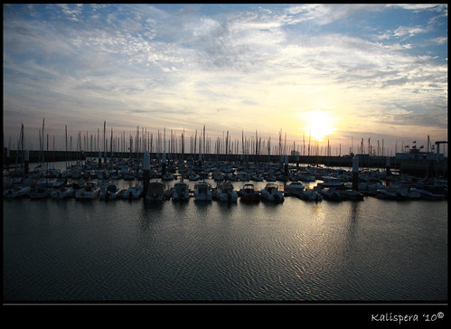 LE HAVRE tramonto
