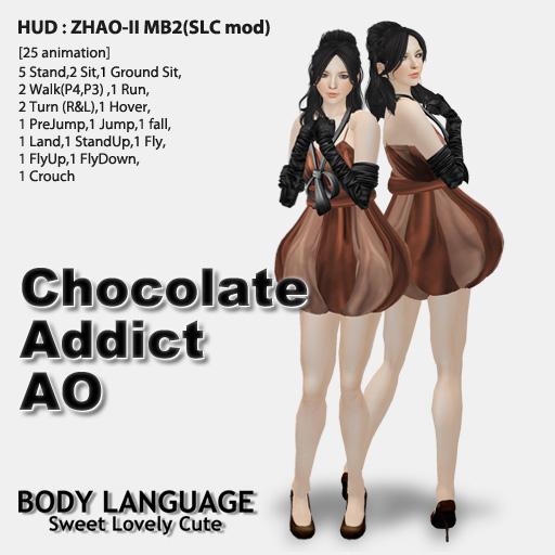 Chocolate Addict AO set