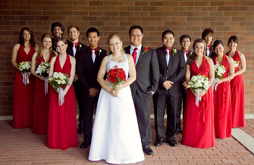 J+A Bridal Party