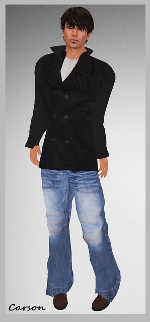 Maschienenwerk U.S. Navy Pea Coat Maschienenwerk USED_ZEITZONE_jeans  Maschienenwerk Bo_Boots