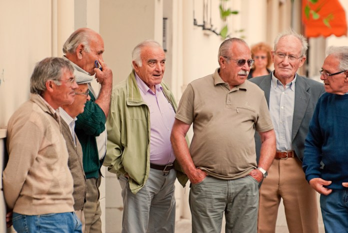 Image result for old people in italia