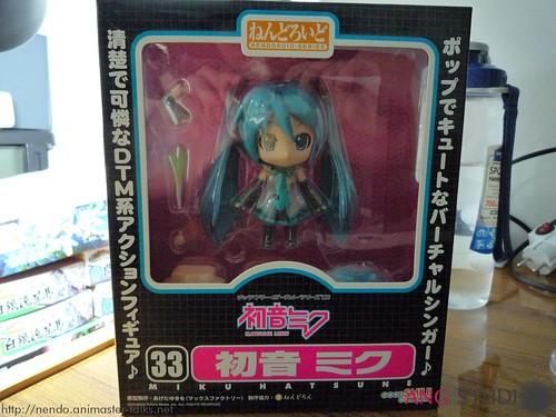Nendoroid Hatsune Miku box