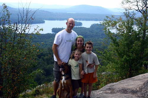 Family on Bald Mountain 2010