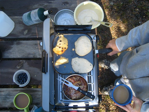 Camping Breakfast Day Two