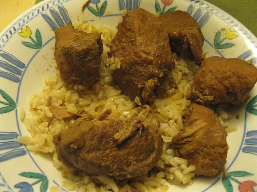 Pork Adobo and Rice